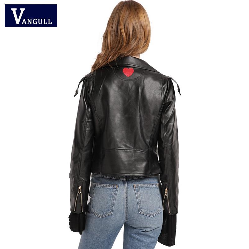 New Autumn Fashion Street Women's Short Washed PU Leather   Jacket   2017 Zipper Bright Colors New Ladies   Basic     Jackets   Good Quality