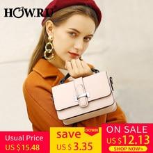 e57c30442110da HOWRU Brand PU Leather Women Bags Designer 2019 Small Chain Side Bag  Fashion Woman Crossbody Shoulder