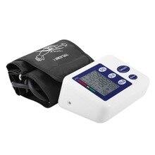 Portable Arm Blood Pressure Pulse Monitor Health Care Monitors Digital Upper Blood Pressure Monitor Meters Sphygmomanometer