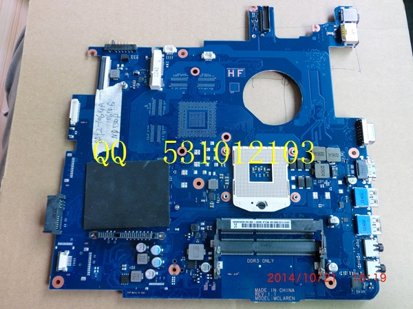 For Samsung NP550P7C font b motherboard b font BA92 10614A notebook mainboard 100 Tested ok qulity