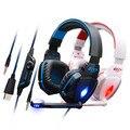 EACH G4000 KOTION Over-ear Jogo Jogo Headphone 7.1 Surround USB Gaming Headset Fone de Ouvido com Microfone para Computador Gamer