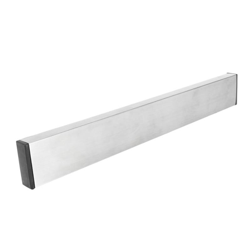 Magnetic Self-adhesive 51CM Length Knifes Holder Stainless Steel Block Magnet Knife Holder Rack Stand For Knifes