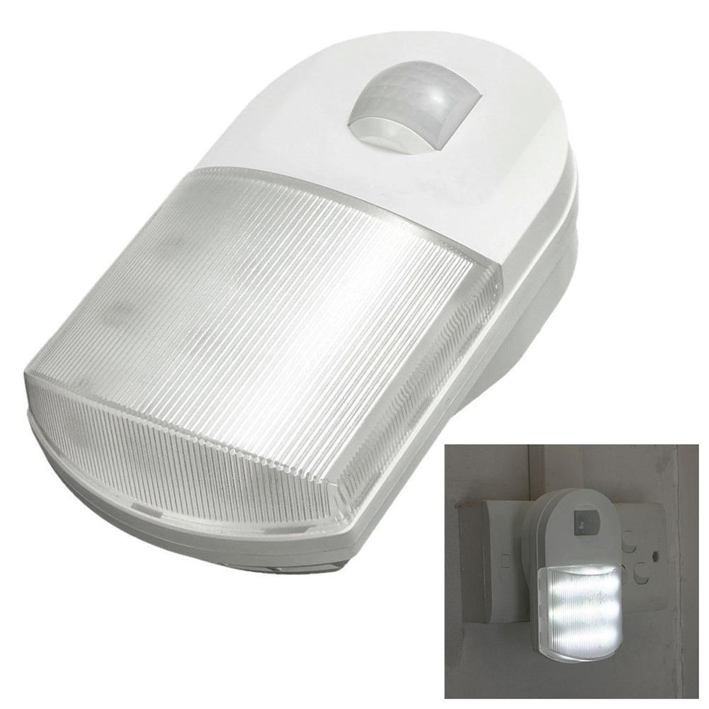 Lumiparty 9 светодиодный инфракрасный движения Сенсор Night Light Home прихожей для детей Спальня настенный светильник ЕС Plug jk30