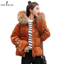 winter jacket women 2015 fashion slim short cotton-padded Hooded jacket parka female wadded jacket outerwear winter coat women цены онлайн