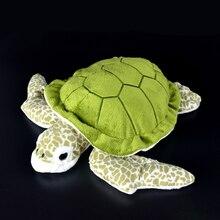 28cm Lifelike Tortoise Plush Toys Super Soft Turtle Stuffed Toy Sea Animals Plush Toy Gifts For Children