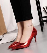 2016 New Luxury Designer High Heels Schuhe Nude pumps hochzeit Schuhe Slip On Red Pumpt spitz Sexy High Heels