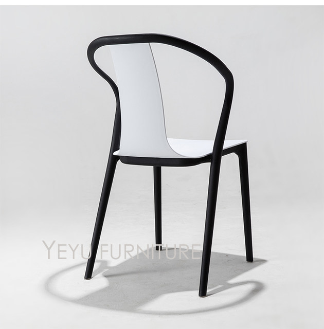 Online Shop Minimalist Modern Design Double Color Outdoor Stackable Plastic  Chairs, Stack Dining Chairs, Negotiate Chair. Hotel Office Chair |  Aliexpress ...