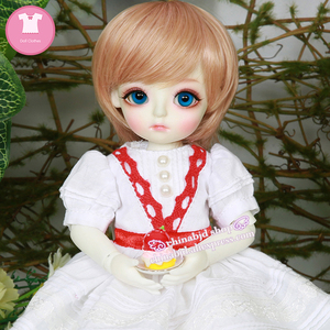 Image 5 - BJD SD בגדי בובת 1/6 נסיכת שמלת צעצוע עבור Linachouchou מלאכי מליסה YF6 182 בובת אבזרים