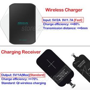Image 3 - Nillkin Qi chargeur sans fil pour Xiaomi Mi 8 9 SE Lite Pro chargeur sans fil rapide + récepteur type c pour Redmi Note 7 K20 Pro