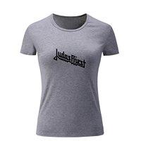 Judas Priest British Hard Metal Rock Band Summer T Shirt Women S Girl S Ladies Short