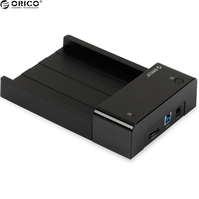 New ORICO ABS Plastic Material Hard Disk Drive Enclosure USB 3.0 Hard Disk Box Compatible with 2.5 & 3.5 Inch HDD/SSD
