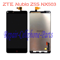 5 Inch Black Full LCD DIsplay Touch Screen Digitizer Assembly Replacement For ZTE Nubia Z5S NX503