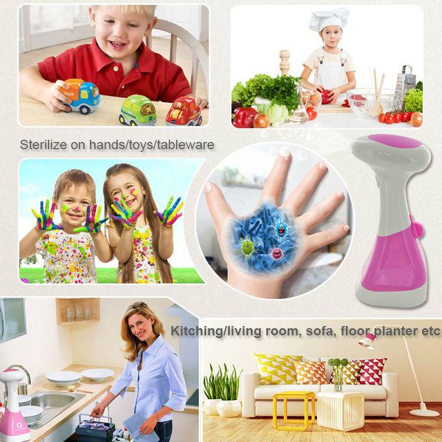 Battery powered ozone generators food sterilizer fruits washer disinfector green ozone equipment O3 sterilization device