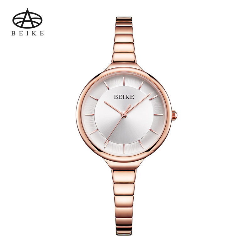 BEIKE Women Watches Luxury Brand Dress Wristwatch Relogio Feminino Clock for Women Montre Femme Quartz Ladies Rose Gold Watch dom fashion quartz women watch rhinestone leather casual dress watches rose gold ladies clock relogio feminino montre femme