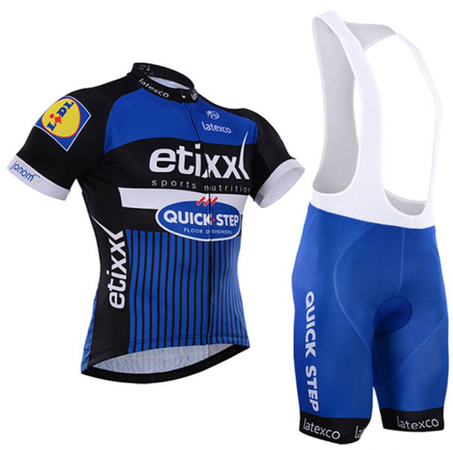 2018 TEAM Cycling jersey bike shorts suit Set Ropa Ciclismo mens summer quick-dry Maillot Culotte 9D Gel Pad