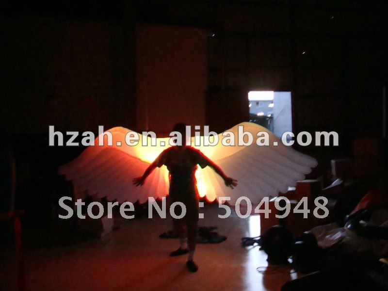 Beautiful LED Inflatable lighting wings