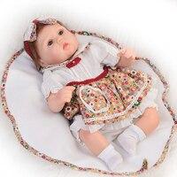 NPK Realistic 40 Cm Baby Reborn Dolls Silicone Touch Soft 16 Inch Baby Alive Newborn Doll
