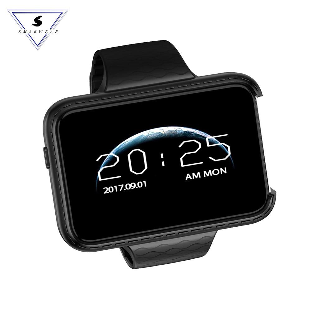 Montre Smart watch téléphone i5S rectangle 2.2 pouce coloré grand écran Mini Voiture grand-angle d'enregistrement Vidéo Podomètre Intelligent bracelet montre