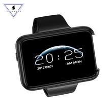 Inteligente relógio do telefone i5S retângulo 2.2 polegada tela colorida grande Mini Carro Grande-angular de gravação de Vídeo Pedômetro pulseira Inteligente relógio