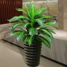 Новый 65 см латекс искусственные Бразилии птица вечнозеленое растение дерево Новогодние товары Свадебные Мебель для дома церкви декор зеленый без ваза F5145
