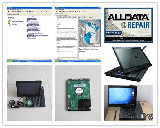 2017 installed version auto repair software alldata 10 53 and mitchell on demand 2in1 with 1000gb