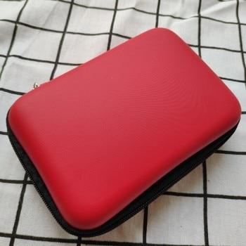 100 Capacity Cards Holder Notebook Hard Case Card Holder For Pokemon CCG MTG Magic Yugioh Board Game Cards Book Sleeve Holder - Red
