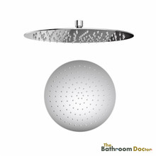 300mm SUS304 Stainless Steel Rainfall Shower Head, Round Chrome 03-174