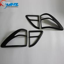 for Mazda BT50 accessories matte black rear font b lamp b font lights cover for mazda