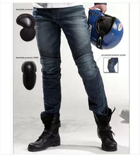 2016 The newest uglyBROS Featherbed jeans The standard version car ride jeans trousers Motorcycle jeans Drop the jeans man pants