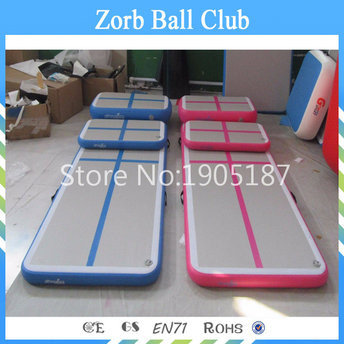 Free Shipping 3x1x0.2m Guangzhou Air Track Factory Inflatable Durable GYM Tumbling Mats For Gymnastic the two penny bar