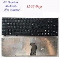 KR черная клавиатура для ноутбука Lenovo B570 Z565 Z560 Z570 Z575 V570A V570G B575 B580 V580 B590 Корея