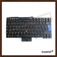 Английский клавиатура черный замена для lenovo ibm t60 t60p t61 t61p r60 r61 t400 r400 w500 98% новый