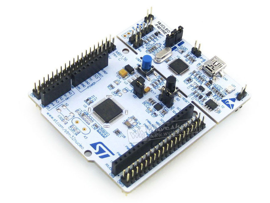STM32 NUCLEO-F401RE # STM32F4 STM32F401 Development Board Embedded ST-LINK waveshare xnucleo f401re development board with separated st link uart indicator dc input
