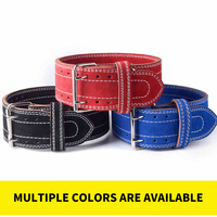 FDBRO Fitness belt Back Support Squats Power Cleans Heavy Duty Men Women Leather Weightlifting Belt Powerlifting Gym Exercise