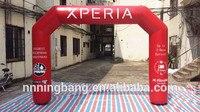 Бесплатная доставка 8 м * 5 м * 0.85 м надувные арки ПВХ для рекламы