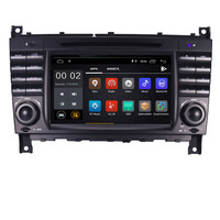 7HD 1024x600 Quad core Android 9.0 Car DVD Player for Mercedes W203 android C200 C230 C240 C320 C350 CLK W209 GPS Radio WiFi 3G