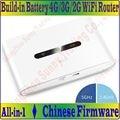 Dual Band 2.4 GHz & 5 GHz Sem Fio de Viagem 150 Mbps 2G 3G 4G Router Wi-fi 802.11 bgna, tudo-em-um Modem Router com Bateria de 2000 mAh