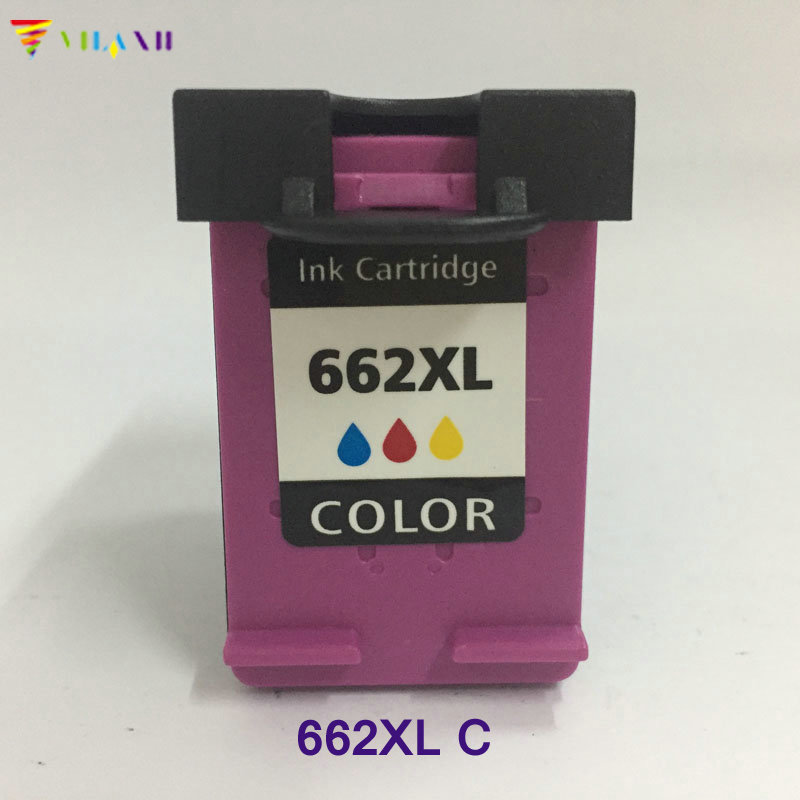 Vilaxh compatible <font><b>cartucho</b></font> 662xl Ink Cartridge replacement for <font><b>hp</b></font> <font><b>662</b></font> <font><b>xl</b></font> Deskjet 1015 1515 2515 2545 2645 3515 3545 4645 Printer image