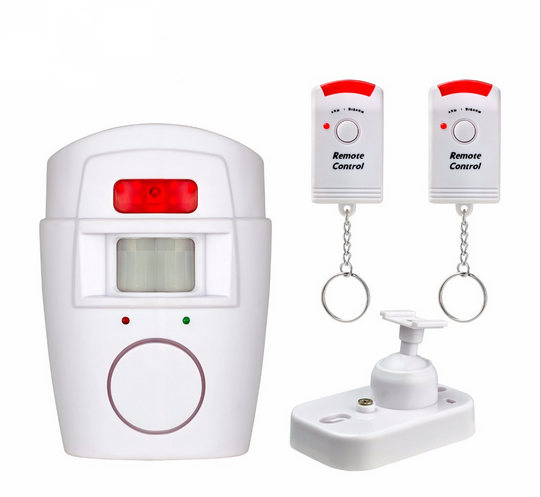 SmartYIBA Home Security Anti-theft PIR Alert Infrared Motion Sensor Detector Alarm Wireless Remote Control Security Alarm charming full bang fluffy long wave heat resistant synthetic capless wig for women