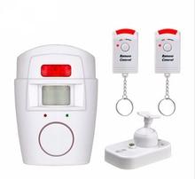 SmartYIBA Home Security Anti-theft PIR Alert Infrared Motion Sensor Detector Alarm Wireless Remote Control Security Alarm