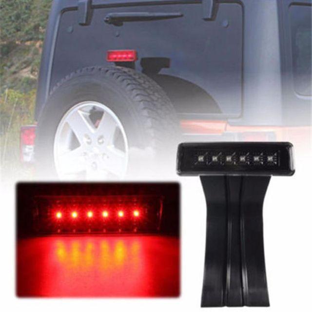 Led 3rd Third Brake Light For 2007 2016 Jeep Wrangler Jk Brake Tail Light Lamp Bulb Assembly