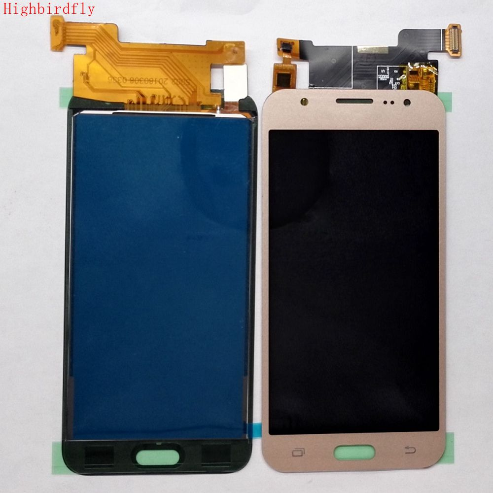 Highbirdfly For Samsung Galaxy J5 2015 J500 J500F J500M J500A Lcd Screen Display+Touch Glass Digitizer can not adjust brightness