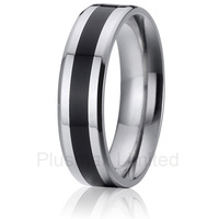 2016 Anel affordable prices lovers gift custom vintage pure titanium rings wedding band