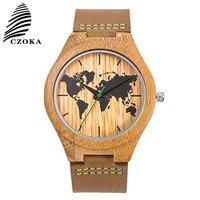 Map Design Sport Quartz Watch Relojes Para Mujer Wrist Watches Leather Clocks Reloj Mujer Relogio Feminino Ladies Women Watches