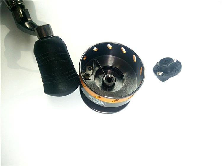 4 rolamentos de metal mini molinete de
