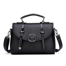 Large Capacity Women Handbag Leather Top-Handle Ladies Shoulder Bag Fashion Crossbody Messenger Bags for Women Girls sac a main women backpack high quality pu leather sac a main school bags for teenagers girls top handle large capacity student package