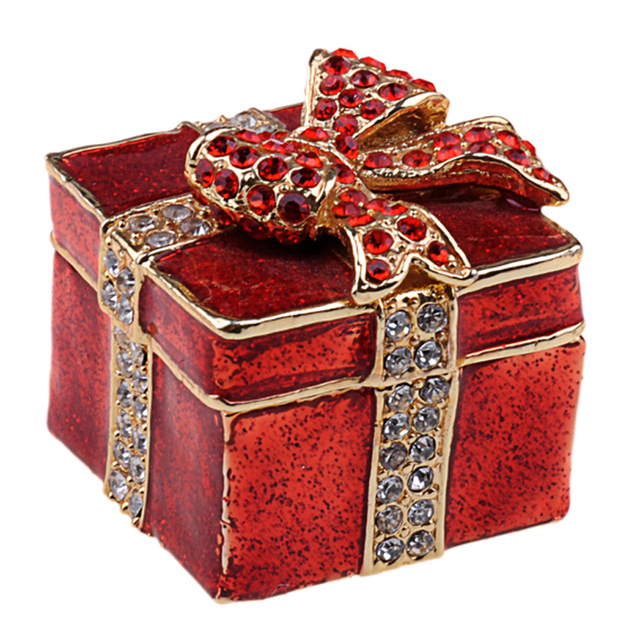 square present box treasured box wedding favors gifts jeweled