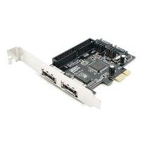 Combo SATAII IDE PCI Express RAID Controller Card 1Port IDE 2 Port Sata 2 Port Esata