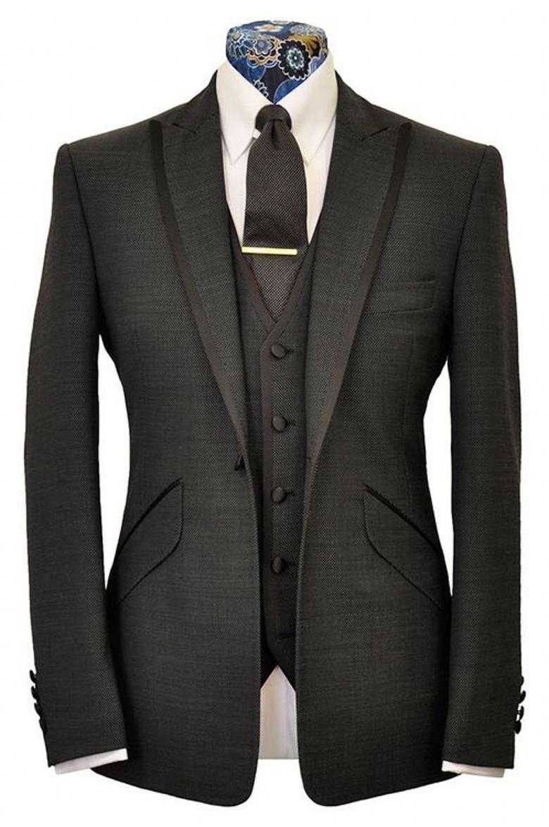 Terno Para Casamento 2016 Custom Made Handsome Mens Slim Suits Tuxedos Grooms Suit Men's Wedding Business - chengfenglai mens suits Store store