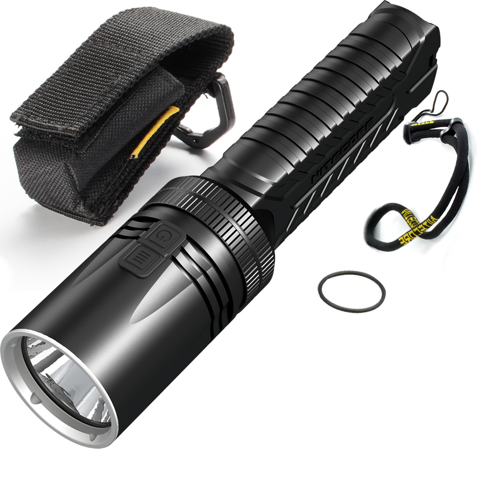 NITECORE EA42 1800LM CREE XHP35 HD LED 4*AA Flashlight Camping Outdoor Hiking Cave Rescue Portable Tactical Torch Free Shipping 2018 new 100% original nitecore sens aa flashlight cree r5 led fish bicycle camping hiking portable keychain keyring mini torch